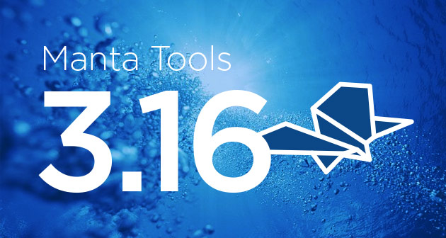 Manta Tools 3.16: Faster Than Ever, Extended Support for IMM, IGC and More!