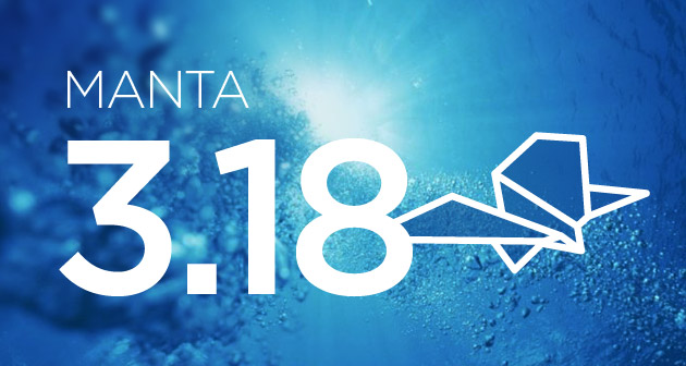 MANTA 3.18: We Are Going Public… With Our API! (And More!)