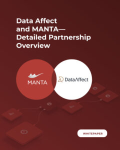 MANTA and Data Affect Partnership