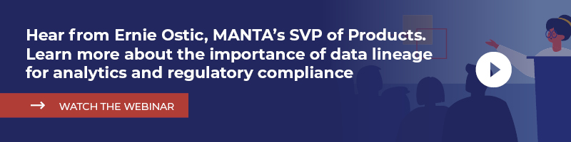 Watch the webinar by Ernie Ostic to learn more about data lineage for analytics and regulatory compliance