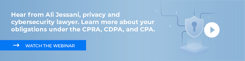 Learn more about the privacy laws (CPRA, CDPA, CPA) in the United States.
